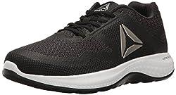 Reebok Women s Astroride Duo Running Shoe Black/Coal/Pewter/White 6.5 B(M) US