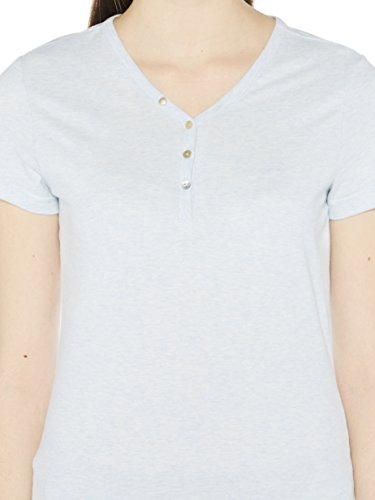 Colorado Denim Damen T-Shirts Margeret Grau (illusion Mel 6085)