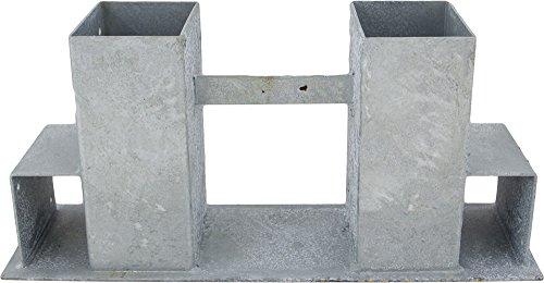 TrendLine Kaminholzstapelhilfe Holzstapelhalter Brennholzregal Stapelhilfe