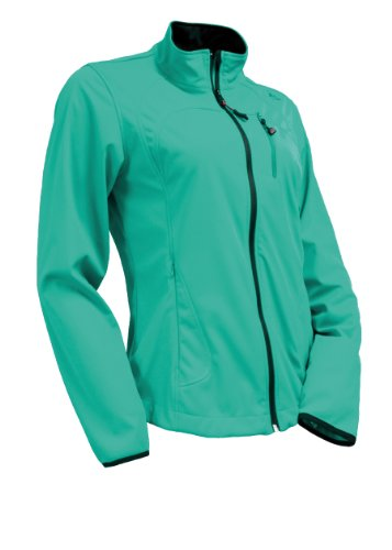 Maier sports Element Veste softshell pour femme Vert - waterfall