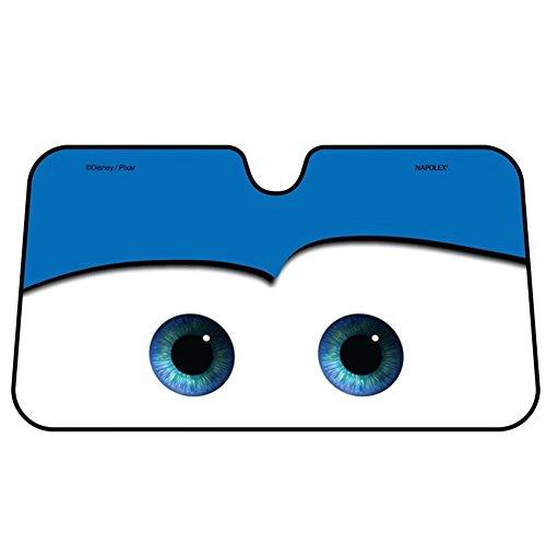 (Fancylande Auto Sonnenschutz Cars Windschutzscheibe Auto Universal Sonnenschutz Visier Cartoon Augen 130 * 70)