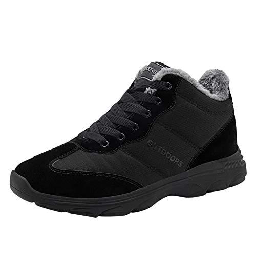 Stivali da Neve da Uomo da Donna Vendita Scarpe Sportive da Esterno Coppia Denim Sneakers Antiscivolo Traspiranti Abbigliamento Casual Scarpe da Trekking per Donna by Kinlene