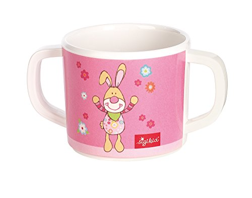 Sigikid 24434 Melamin-Tasse Bungee Bunny (Bungee-baby)