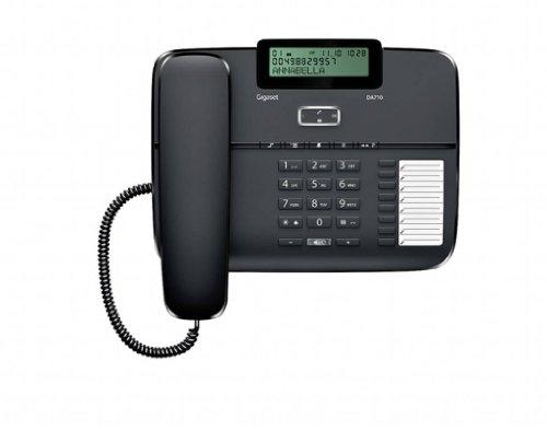 Teléfono fijo con cable manos libres