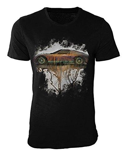 Lamborghini Miura T-Shirt Stilvolles Designershirt von Paul Sinus - Lamborghini-shirt