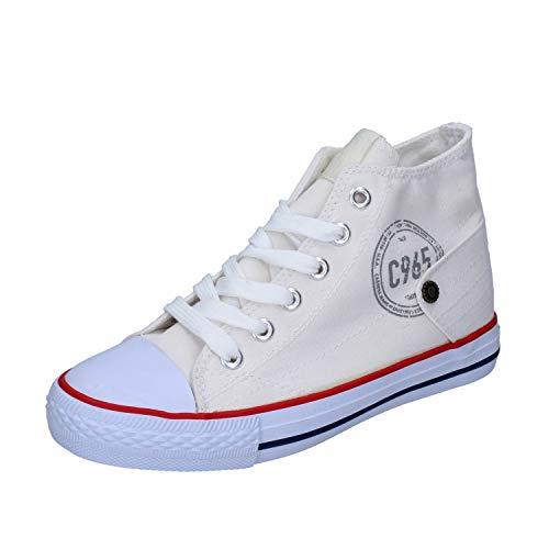 Carrera Jeans Sneakers Baby Jungen Segeltuch weiß 32 EU -