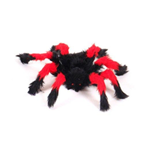 en Dekoration Spukhaus Prop Indoor Outdoor Schwarz Lila Rot Riesen Spinnen von MAXGOODS ()