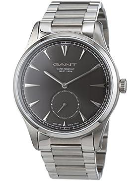 GANT TIME Herren-Armbanduhr HUNTINGTON Analog Quarz Edelstahl W71007