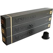 Nespresso Espresso Ristretto, pack de 3, 3x 10Cápsulas