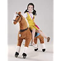 UFREE Horse Best Birthday Present for Girls. Action Pony Toy. Rocking horse. Large 44