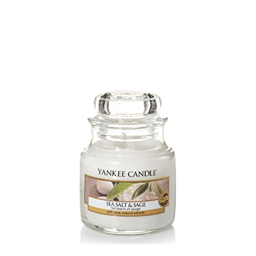 Yankee candle 1507712E Duftkerze, Glas, weiß, 6,3 x 6,2 x 5,3 cm