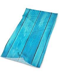 8afca4d679 show best Outdoor Magic Headband Elastic Seamless Bandana Scarf UV  Resistence Sport Headwear Sea Blue Old Wooden Oak Plank Striped…