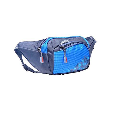 Wewod Bolso de la Cintura,Bolsa Riñonera,Bolso de Cintura,Riñoneras Adolescente 25 x 15 x 8 cm (L*H*W) (Azul)