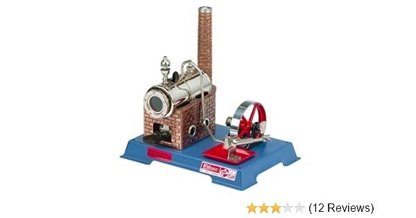 Powered Toys Helpful Wilesco 0005 Kit Steam Engine D 5 Steam Powered