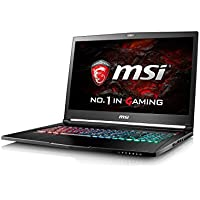 MSI GS73VR 7RF (Stealth Pro 4K) 17.3 Inch UHD Gaming Laptop (Black) - (Kabylake Core i7-7700HQ, 16 GB RAM, 256GB SSD, 2TB HDD, GTX 1060, Windows 10)