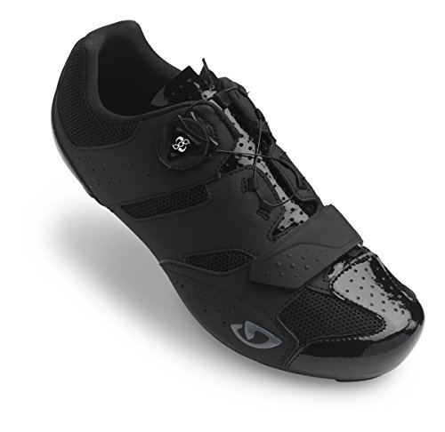 Giro savix per bici da corsa scarpe Nero 2018, 45