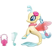 MY LITTLE PONY C1833ES0 - Figura decorativa de princesa Seapony con purpurina y estilo