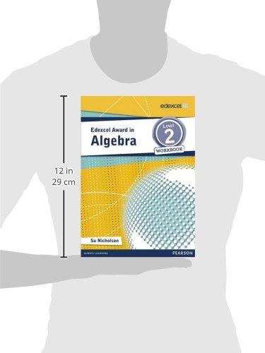 Edexcel Award in Algebra Level 2 Workbook (Edexcel Maths Awards)