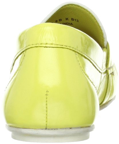 Cole Haan Monroe Penny Deconstructed Moccasin Lemon Ice/White