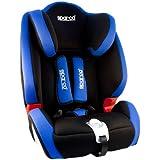 SPC3005AZ - Sparco Silla Infantil, Grupos I/II/III Ece R44/04, Azul/Negro