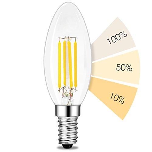 E14 LED Kerze fourSTEP Leuchtmittel 4W 2500K