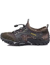 Flarut Sandali Sneakers Sportivi Estivi Uomo Trekking Scarpe da Spiaggia  All aperto Pescatore Piscina Acqua 6cc4eeccb31