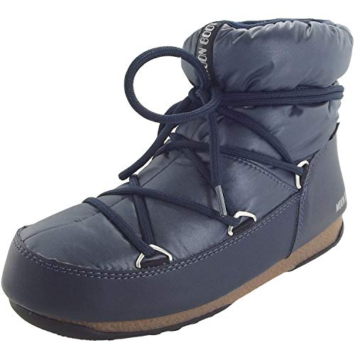 Moon-boot Damen W.E. Low Nylon WP Schneestiefel, (Blue/Denim 006), 36 EU