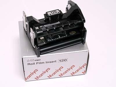 645 120 Film Insert with Case