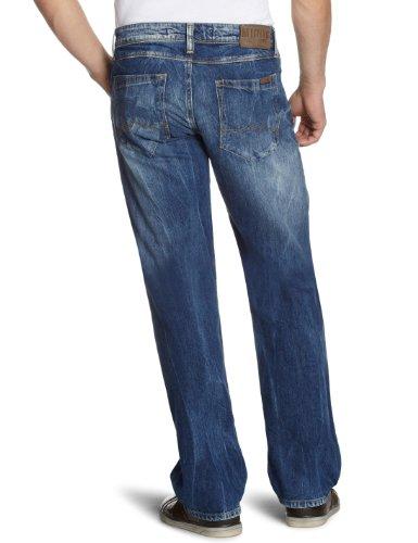 MUSTANG Herren Jeans Michigan Blau (bright vintage wash)
