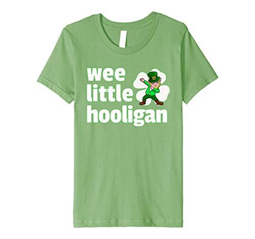 Kinder Kinder Sanftes Leprechaun Kids Shirt Wee Little Hooligan Shamrock (Shop Of Little Shamrocks)