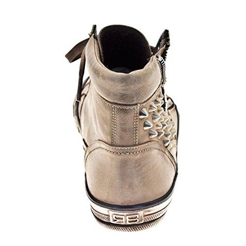 ROBERTO BOTELLA - Sneakers en cuir Beige
