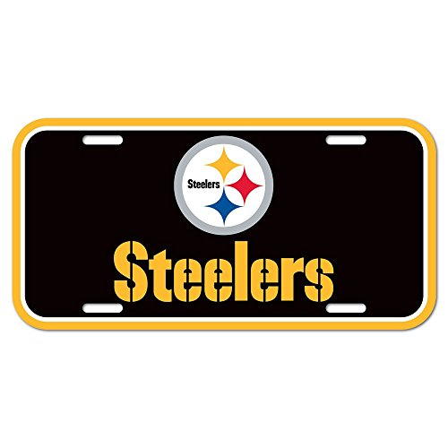 Wincraft NFL Football PITTSBURGH STEELERS Plate Schild Kennzeichen USA Nummernschild