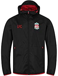 Liverpool FC Black Mens Football Parka Jacket AW 18//19 LFC Official