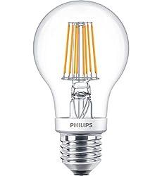 Phil Classic LEDbulb Filament 7,5W E27   2200-2700K A60 klar Dimtone