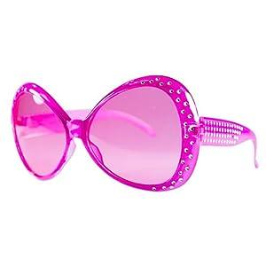 PINK DIAMANTE SHARPAY/HEN PARTY SPECS/GLASSES (accesorio de disfraz)