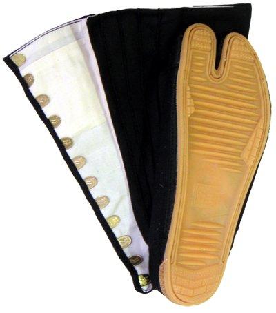 """Tabi Shoes RIKIO Black """"Fighter"""" Jika Tabi"""