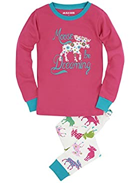 Hatley Mädchen Long Sleeve Printed Pyjama Sets