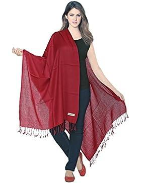 Lujosa pashmina, bufanda enrollable, 100% lana fina, de World of Shawlsl