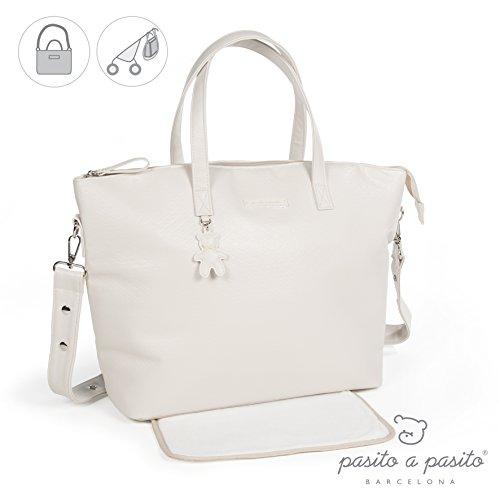 Preisvergleich Produktbild pasito a pasito–Tasche mit wechselnden Catania beige (AC)