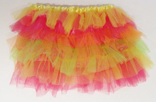 Luxe avec Tutu coloré-fille/femme Robe Jupe de danse Disco fête le 22 à 26 Costume de ()