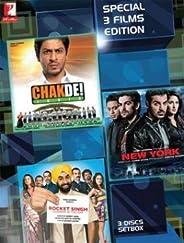 Chakde India/New York/Rocket Singh: Sales Man of the Year