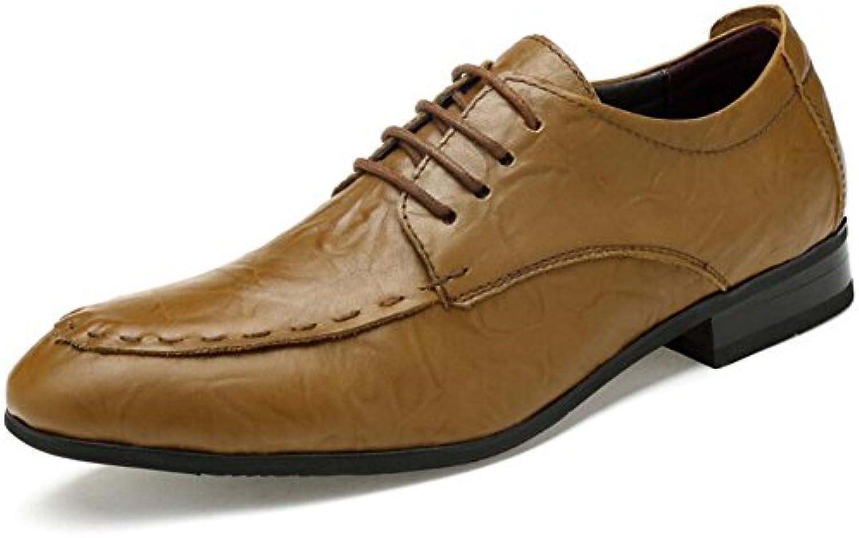 Zapatos de Hombre PU Verano/Otoño Hombre Señalar Negocios Casual Cómodo Fiesta y Noche Zapatos Formales Zapatos... -