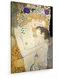 Gustav Klimt - Die DREI Lebensalter der Frau - Detail - 1905-40x60 cm - Leinwandbild auf Keilrahmen - Wand-Bild - Kunst, Gemälde, Foto, Bild auf Leinwand - Alte Meister/Museum