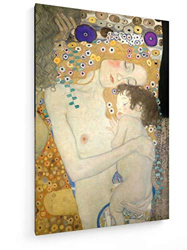 REI Lebensalter der Frau - Detail - 1905-50x75 cm - Leinwandbild auf Keilrahmen - Wand-Bild - Kunst, Gemälde, Foto, Bild auf Leinwand - Alte Meister/Museum ()