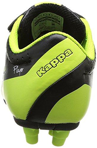 Kappa Soccer Player Fg 3027, Chaussures de football garçon Noir (911 Black)