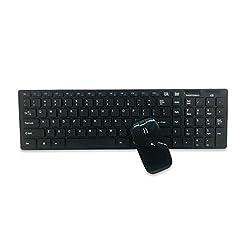 Caratteristiche tecniche: Colore: Bianco  Materiale: Guscio di plastica  Batteria: all'interno del mouse mettere in una batteria AAA, all'interno della tastiera inserita in batterie 2 e AAA  (non incluse)  Connessione: connessione wireless ricevitore...
