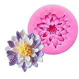 Backen Form Neue Lotus Silikon Kuchen Schokoladen Form Backen Werkzeuge Rosa Kuchenform