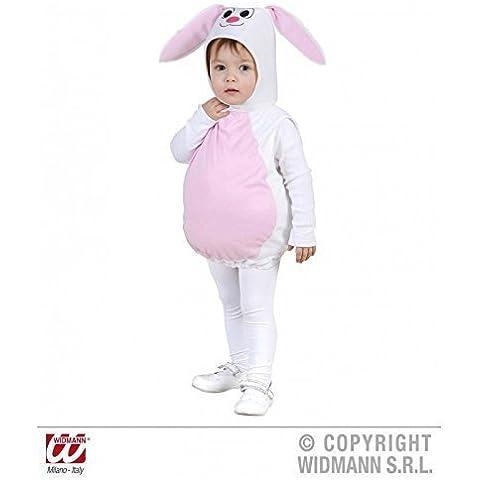 Disfraces DISFRAZ de conejo pequeño conejo/Conejito de Pascua Puffy 104 Gr, disfraz de conejito blanco para niños