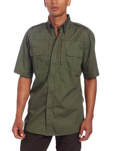 Propper Herren Short Sleeve Tactical Hemd, herren, olivgrün, X-Large Regular (Propper Tactical Shirt)