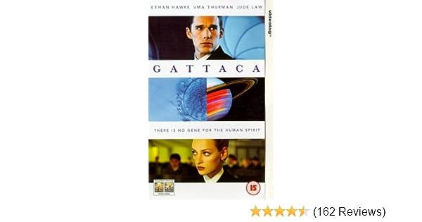 cb62aa7c6cfb Gattaca [VHS] [1998]: Ethan Hawke, Uma Thurman, Jude Law, Gore Vidal,  Xander Berkeley, Jayne Brook, Elias Koteas, Maya Rudolph, Una Damon,  Elizabeth Dennehy ...